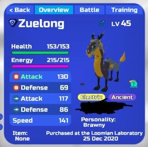 Gamma Zuelong Roblox Loomian Legacy