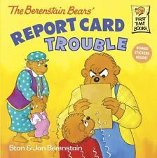The Berenstain Bears' Report Card Trouble-ExLibrary