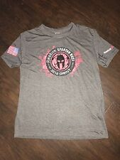 NEW Men's Reebok Spartan Race 2016 Sprint Finisher Trifecta Running Shirt L