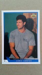 1993-94 Upper Deck #54 Chris Kontos Tampa Bay Lightning