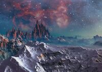 A1 | Art Poster Of Fantasy Alien Planet 60 x 90cm 180gsm Space Sci-Fi Gift#14253