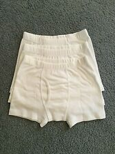 3 Pair HANNA ANDERSSON Unders Boy's~XS (1-3.5yr) Wt Cotton Boxer Briefs-New!