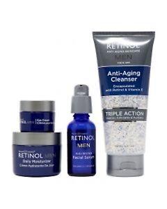 Skincare LdeL Cosmetics Retinol Men Deluxe Kit(Serum, eye ,Cleanser, Moisturise)