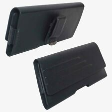 Verizon OEM Universal Vegan Leather Pouch With Belt Clip - Large