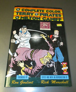 1991 Complete Color TERRY And The Pirates v. #2 1935-36 FVF Milton Caniff