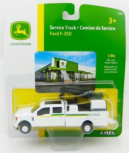 ERTL 1:64 JOHN DEERE 2017 Ford F-350 Crew Cab DUALLY Dealership SERVICE TRUCK