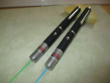 Powerful Green and Blue Laser pointers 532nm-405nm 5mW power Gift Class Ii & Iii
