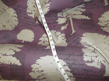 18 Metres Of Quality Montgomery Woodland Aubergine Fabric  Andrew Martin Style
