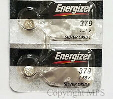 Energizer 379 (SR521SW) Silver Oxide Battery 1.55 Volt 2 Pcs