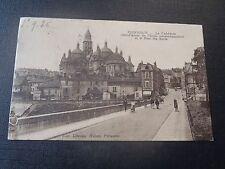 CPSM Périgueux Cathédrale et le Pont des Barris