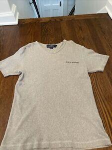 Mens Polo Sport Ralph Lauren Tee shirt size medium gray vintage