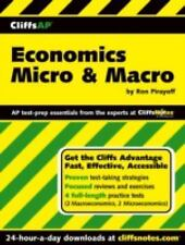 CliffsAP Economics Micro and Macro by Ronald Pirayoff (2004, Paperback)