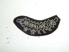 0279 WW2 US Army Air Force AAF Catapillar Club Embroidered bullion patch A2B13