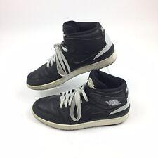 Nike Air Jordan 1 Retro 86 Pure Platinum Mens Shoes Black 644490-010 Size 11