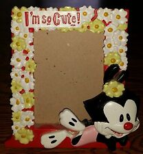 Animaniacs Cartoon Warner Brothers EXTREMELY RARE Dot Picture Frame I'm So Cute