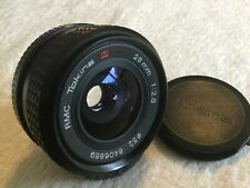RMC TOKINA 28mm 1:2.8 WIDE ANGLE LENS with PENTAX K P/K MOUNT