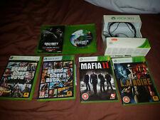 Xbox 360 Games Bundle - Headset