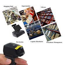 FS01 Mobile Barcode Scanner 1D Bluetooth Wearable Ring-style Mini PortableFinger