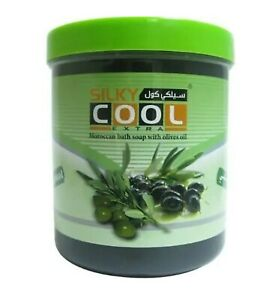Moroccan Black Soap Olives Oil silky cool extra