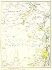 Lancashire. Holcombe moor,. ramsbottom, Stubbins, chatterton, helmshore 1935 old map