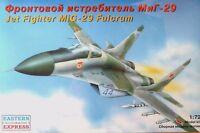 Eastern Express 1:72 MiG-29 Fulcrum Soviet Fighter Aircraft Model Kit