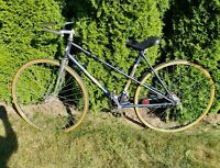 Vintage French Jeunet Franche-Comte Project For Parts Bicycle - Rat Rod Bicycle