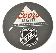 Coors NHL BIRRA SOTTOBICCHIERI DI BIRRA SOTTOBICCHIERE SOTTOBICCHIERE USA