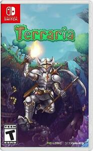 Terraria Nintendo Switch Brand New Sealed