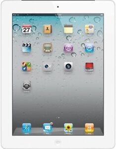Apple iPad 2 16GB, Wi-Fi, 9.7in - White (CA) Model A1395