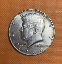 1968 US Clad Silver Half Dollar