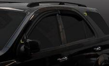 Auto Clover Wind Deflectors Set for Kia Sorento 2003 - 2009 (4 pieces)