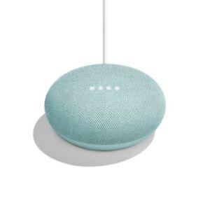 Brand New Google Home Mini Smart Speaker with Google Assistant Aqua