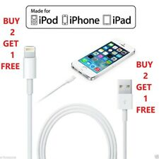 USB Lightning Charger & Data Sync Cable Lead For Apple iPhone X 5 5s 5c 6 7 8