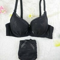 Lady Sexy Lace Bra and Pantie/Briefs Set Girl Lingerie Underwear 70 75 80 B L85