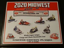 2020 Midwest Ride In  00004000 Winnipeg To St. Paul Limited Edition Plaque (Waconia)