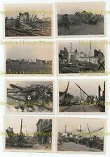 OLD CHINESE PHOTOGRAPHS HUNGJAO & CHAPEI BATTLE OF SHANGHAI CHINA 1937 ?