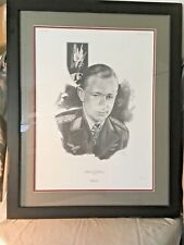 Helmut Lent-Iron Cross Winner Signed/Numbered Edition 197/500 Sketch Print