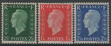 """FRANCE STAMP TIMBRE 701A/C """" MARIANNE DULAC SERIE TYPE I """" NEUFS xx TTB  N183"""
