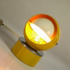 Tisch Lampe Hustadt Nachttisch Lese Leuchte senffarben Vintage Moonlamp