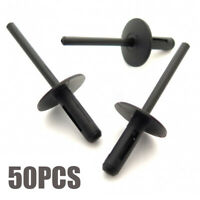 50pcs Plastic Blind Rivets Kit For Bmw Wheel Arches Side Skirts Sills Bumpers