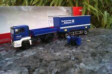 Herpa 312783 MAN TGS L E6c Kipper & Stapler THW 1 87
