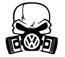 VW Skull Vinyle Voiture Décalque/Autocollant