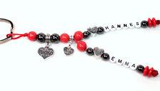 Schlüsselanhänger mit 2 Namen Mama Mother Taschenbaumler personalisiert