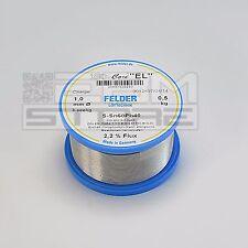 Stagno 1 mm 60/40 con flussante bobina 500 gr. - ART. DS09