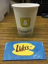 Gilmore Girls Luke's Coffee Cup (Netflix) Promo with Sleeve