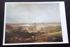 POSTCARD: J M W TURNER: LONDON FROM GREENWICH: UN POSTED