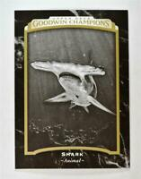 2017 UD Goodwin Champions Base Black and White #124 Shark - Animal