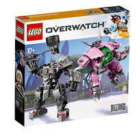 75973 LEGO Overwatch D.Va & Reinhardt Buildable Mech Suit 455 Pieces Age 10yrs+