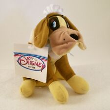 "Disney Store Peter Pan's ""Nana"" the St. Bernard Mini Bean Bag Plush NWT RARE"