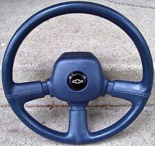 Chevy Lumina Euro-Sport STEERING WHEEL Blue Z-34 Chevrolet 89 90 91 92 93 94